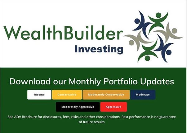 WealthBuilder's January Portfolio Updates are Available